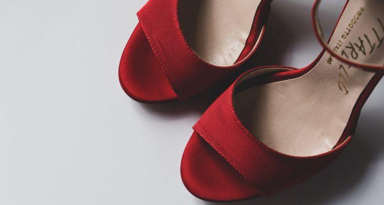 schoenen onder jurkje